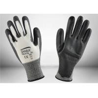Quality Non Toxic PU Coated Cut Resistant Gloves Machine Washable High Durability wholesale
