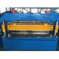 Quality 5T Corrugated Roll Forming Machine , Roofing Sheet Making Machine Hydraulic Power wholesale
