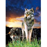 Quality 0.6mm PET+157g Coated Paper 3D Lenticular Pictures / 3D Lenticular Wall Art wholesale