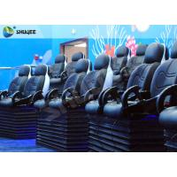 Quality Blue Marine Theme 5d Cinema Theater With Kids Animation And 5D Motion Chairs In Marine Park wholesale