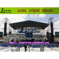 China stadium tower stage light aluminum truss (system),stage truss for sale form Aoka Stage on sale