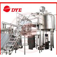 Quality 100L - 5000L Beer Brewing Equipment Commercial With Whirlpool Tank wholesale