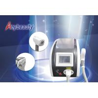 Quality laser hair tattoo removal machine Freckle Clear Skin Rejuvenation Beauty Equipment 3.5ns Pulse Width wholesale