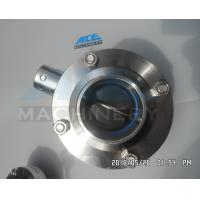 Quality Welded Sanitary Stainless Steel Butterfly Valve (ACE-DF-7K) wholesale
