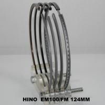 Quality Seal Power Custom Piston Ring Set EM100 Hino , Auto Car Engine Parts For Super Dolphin / FH228 8ton wholesale