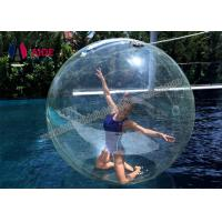 Quality Giant Inflatable Ball / Inflatable Ball You Get Inside For Water Dance wholesale