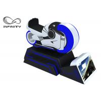 Quality Blue And White Color 9D VR Simulator One Year Warranty / VR Racing Motorcycle wholesale