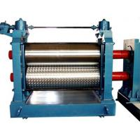 Quality Automatic Aluminum Embossing Machine , Metal Embossing Machine 5.5KW 12m / min wholesale