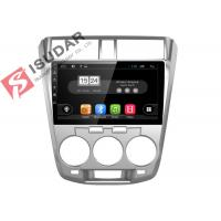 Quality Honda City Head Unit Android Car Navigation System With 4G WIFI 2G RAM 16G ROM wholesale
