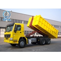 China Diesel fuel Type  4x2 Hooklift Garbage Truck 20 Tons With Hydraulic Arm on sale