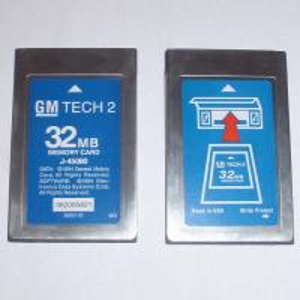 Quality 32MB PCMCIA Memory CARD FOR GM TECH2 Six Software -GM,OPEL,SAAB,ISUZU, SUZUKI Holden wholesale