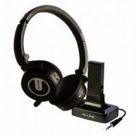 Quality 2.4GHz Digital Wireless Headset with 10m Working Distance, 2.4GHz ISM Band Frequency and 5V DC Volta wholesale