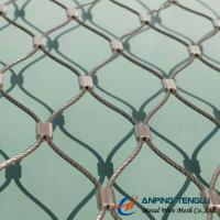Quality Stainless Steel X-Type Ferruled Mesh With SS316 for Architectural or Fencing wholesale