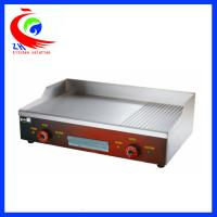 China Energy saving Electric cast iron griddle, flat griddle pan 4400W on sale