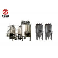Quality Alcohol Processing Micro Brewing Craft Beer Equipment , Beer Making Equipment wholesale