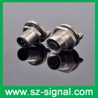 Quality M12 5pin female and male connector with positioning pin wholesale