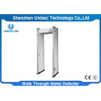 Quality Walkthrough 6 Zones Door Frame Metal Detector Gate With CE / ISO Certification wholesale