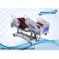 China Adjustable Electric Hospital ICU Bed With Touch Screen Controller on sale