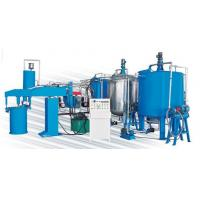 Cheap 43kw Semi-Automatic Sponge Production Line For Foaming Mattress And Furniture for sale
