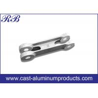 Quality Low Pressure Die Casting Cast Aluminum Products Door Link 371x66x80mm wholesale