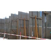 China Timber Beam Formwork , Arced steel formwork for Fuqing Nuclear Power Station on sale