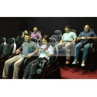 Quality Folded comfortable 3D movie theater chairs , Movie theater furniture for kids cinema wholesale
