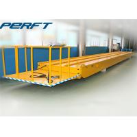 Quality 30 ton die and mold rail guided transfer cart with electric material handling equipment wholesale