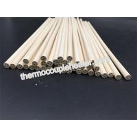 Quality 98.3---99.9% MgO Magnesia ceramic pipes tubes pin rod for cartridge heater wholesale