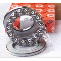 Buy cheap 51100 Thrust Ball Bearing Crossed , 24mm OD AND Single Direction from wholesalers