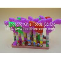 Quality Multi Color Gun Toy Candies / Tablet Candy With Sugar Particle Texture wholesale