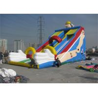 Quality Large Commercial Inflatable Slide, Outdoor Inflatable Slide For Sport Games wholesale