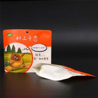 Quality Laminated Al foil Stand Up Ziplock Bags With Zip Lock for food nuts packaging wholesale