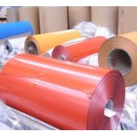 Cheap One / Three Series Painted Aluminium Coil Customized Length With Abrasion for sale