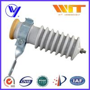 Quality 51KV Power Station Porcelain Substation Surge Lightning Arrester High Reliability wholesale