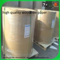 China High quality Woodfree offset printing paper 55grams on sale