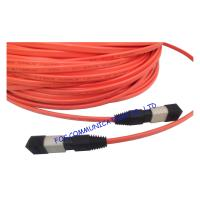 Quality MPO Multi Mode Fiber Optic Patch Cable Low Insertion Loss For FTTX wholesale