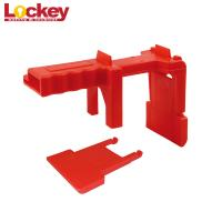 "Lockey 1/2"" To 2 3/4"" Adjustable Ball Valve Lockout Devices With Front Back Foot"