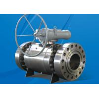 Quality 150LB HE Series Trunnion Mounted Ball Valve Fireproof Antistatic Design wholesale