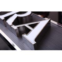 Quality USA Style Illuminated Channel Letters , 3D Channel Letters CE ROHS Certificated wholesale