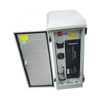 Telecom Online Outdoor UPS System 1KVA 613 * 640 * 954mm With Lithium Iron Battery