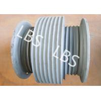 Quality Stainless Steel Variable Diameter Wire Rope Drum For Hoist Machinery wholesale