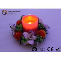 Quality Customized Decorative Led Candles With Moving Wick Portable DL-011 wholesale