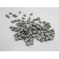 Quality 0.8um Particle Tungsten Carbide Lathe Tips , Durable Cemented Carbide Tips wholesale