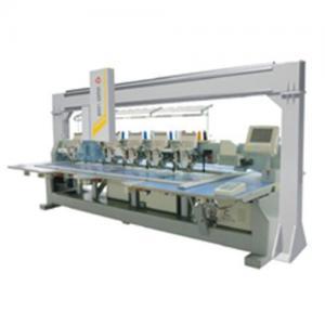 Supply Six head laser embroidery bridge system