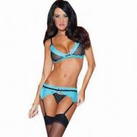 China Blue Lagoon Sexy Underwear Set, Includes G-string on sale