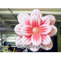 Quality 3m Hanging Inflatable Flower for Exhibition and Stage Decoration wholesale