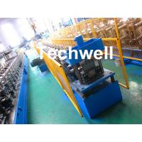 Quality PPGI , Aluminum Forming Material Gutter Roll Forming Machine For Making Rainwater Gutter , Seamless Gutter wholesale