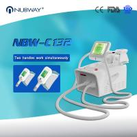 China Cryolipolysis  slimming machine 2 handles working at same time with high quality on sale