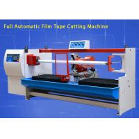 Quality Linear Bearings Single Roll Tape Cutter Machine For Tape Roll / Masking Tape wholesale