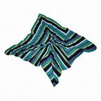 Quality Knitted Stripe Scarf, Soft Texture, Various Sizes/Colors/Materials/Designs are Available wholesale